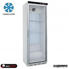 Congelador vertical puerta cristal 350l