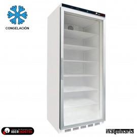 Congelador vertical puerta cristal 610l