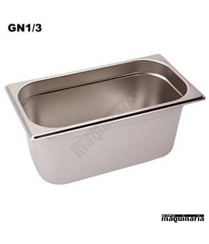 Cubeta Gastronorm INOX GN 1/3