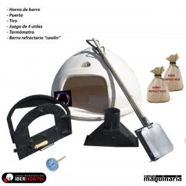 Horno de Barro KIT + Barro Refractario IHLOTE-3