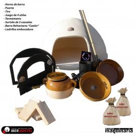 Horno de Barro KIT Completo IHLOTE-5