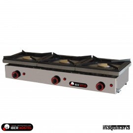 Cocina profesional 2 fuegos IBER-COG2