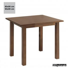 Mesa madera JOMF4PTC cuadrada