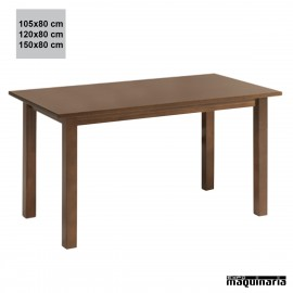 Mesa madera JOMF4PT rectangular