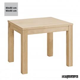 Mesa madera JONATURAC cuadrada