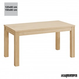 Mesa madera JONATURA rectangular