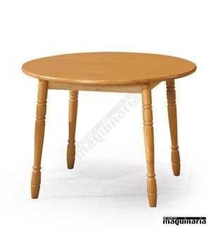 Mesa madera JOMFR redonda