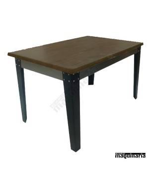 Mesas industriales vintage FAKIEVMAD-R madera