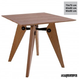 Mesa estilo nordico FANORDICA4 cuadrada