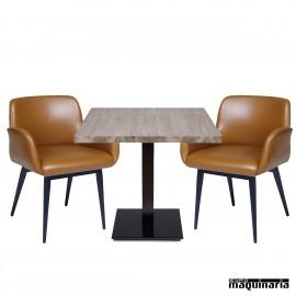Conjunto de mesa y sillas IMLUGANO-MUNICH