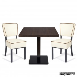 Conjunto de mesa y sillas IMBOHEMIA-MUNICH