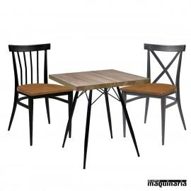 Conjunto de mesa y sillas IMBALTIMORE-ORLANDO