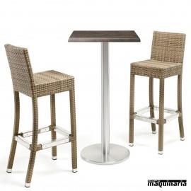 Mesa con taburetes IMFLOREN-GROMA