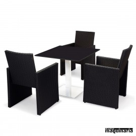 Conjunto de mesa y sillas IMCANADA-MUNICH