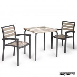 Conjunto mesa y sillas IMEROS-VENUS