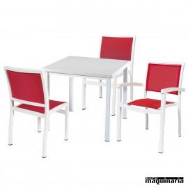 Conjunto mesa y sillas IMEROS