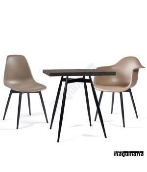 Conjunto de mesa y sillas IMPICASSOP4-COPEN Nordico