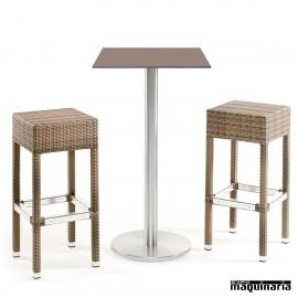 Mesa con taburetes IMFLOREN-SR