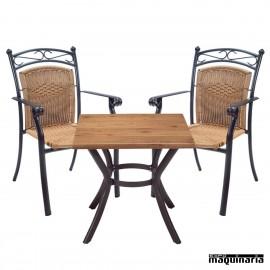 Mesa y sillas Pack IMGAUDI-MIRO
