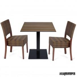 Mesa y sillas Pack IMPRAGA-MUNICH