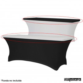 Mantel para mesa ajustable stretch ZOTOPXL180