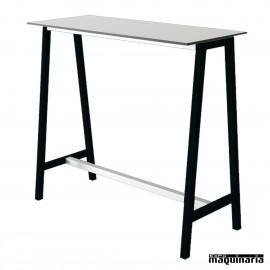 Mesa alta bar AGSTEP rectangular