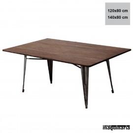 Mesa hierro vintage hostelería AGT1411+