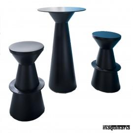 Mesa con taburetes AGCONJ-BROLLER exterior