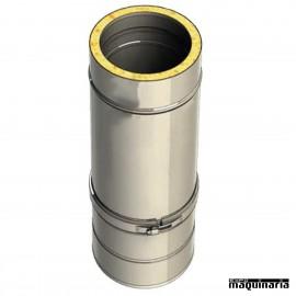 Tubo acero inoxidable regulable 55-90cm
