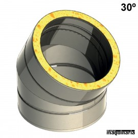 Tubo inox Codo 30º JECODO30