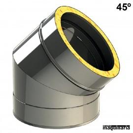 Tubo inox Codo 45º JECODO45