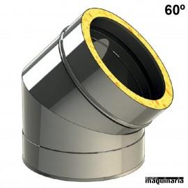 Tubo inox Codo 60º JECODO60