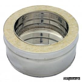 Tubo inox COLECTOR aislado JECOLECTOR-AI