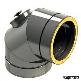 Tubo inox Codo 90º inspección JECODO90-INSP