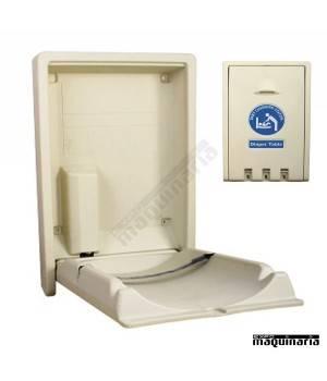 Cambiador de bebe plegable 9R101 de pared