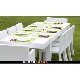 Mesa de diseño Jut By Vondom (280 cm)