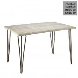 Mesa estilo industrial 3R008 melamina