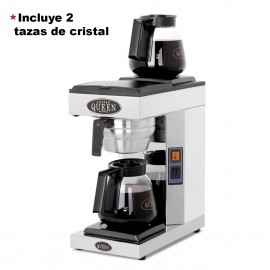 Cafetera de goteo manual, 2 placas calientes