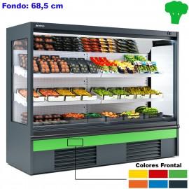 Vitrinas para frutas y verduras INMS6H1+ Abiertas