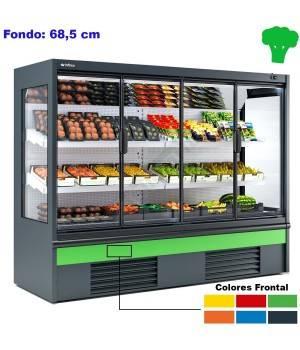 Murales refrigerados para fruta verdura con Puertas