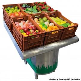 Expositores de fruta y verdura FR075630 INOX