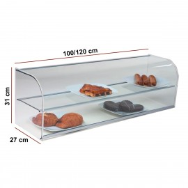 Vitrina neutra doble VGVCL100+