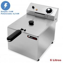 Freidora hosteleria eléctrica 6 Litros IBER-FRY6