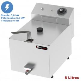 Freidora electrica industrial IBER-FRY8G 8 Litros