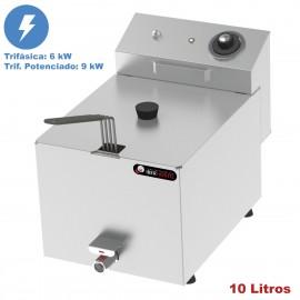 Freidora de 10 litros IBER-FRY10GT-II TRIFÁSICA
