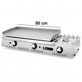 Plancha de gas IBER-PLC800ECF