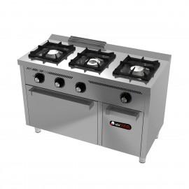 Cocina de gas IBER-C3F600H