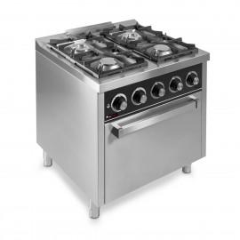 Cocina de gas IBER-C4F750H