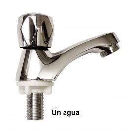 Grifo para lavabo de un agua
