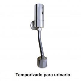 Grifo electrónico temporizado para urinario